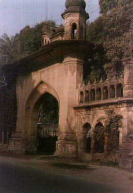 A Grand Gate of perhaps the most impressive old building in Meerut