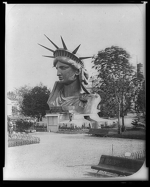 STATUE OF LIBERTY - 1880s