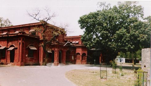Settlement office located in the Civil Lines at Meerut
